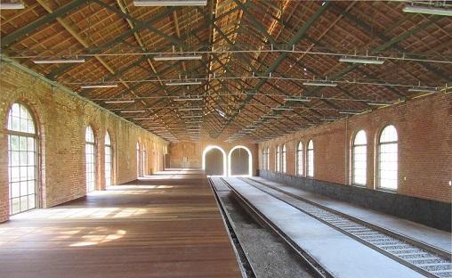 Garagem das Locomotivas/ Foto: Laércio Rocha/Iphan-SP